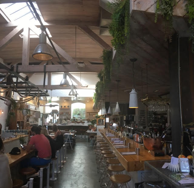 This Aesthetically Pleasing Restaurant Located On The Heart Of Abbot Kinney Boulevard Is Not A Place To Skip Out Front Beautifully