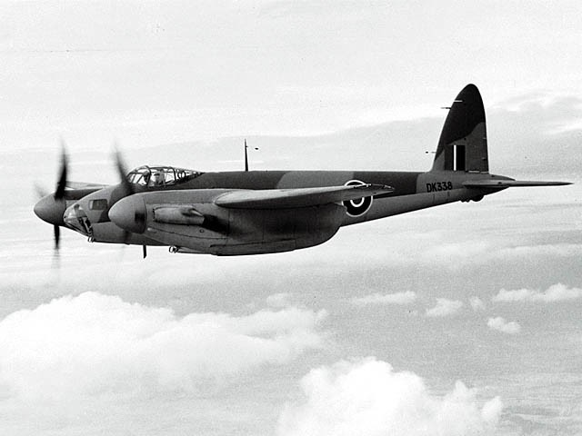 When Britain Made Aircraft From Wood In World War II