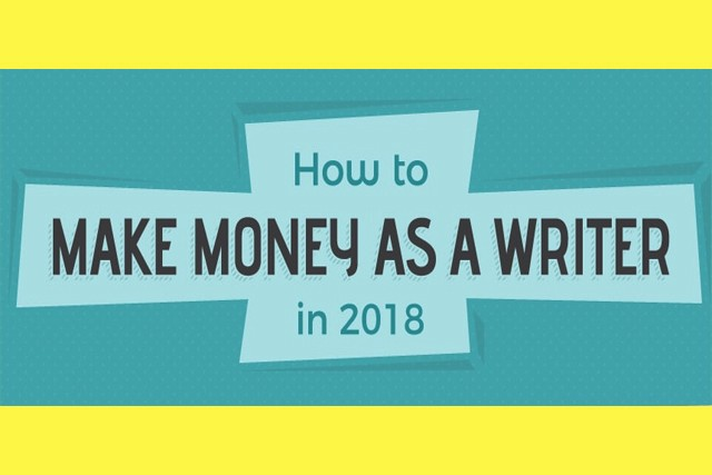 How to Make Money as a Writer in 2018 [Infographic]
