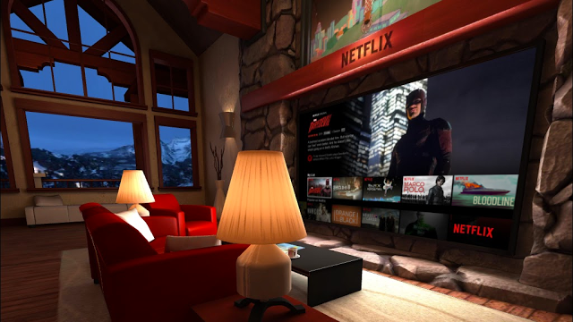 Netflix Living Room On Gear VR