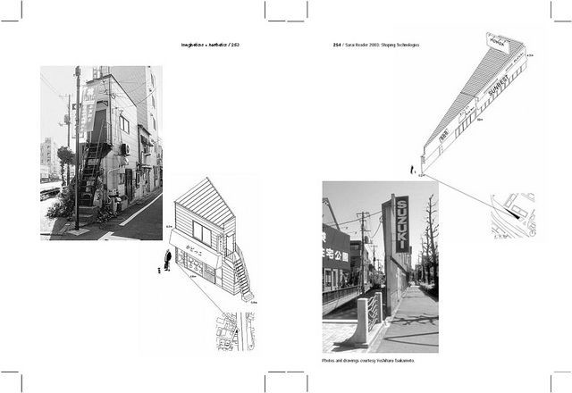 A Drawing Of The City As A Collection Of Architectural