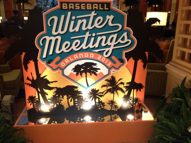 The Baseball Winter Meetings are being held in Orlando, FL.