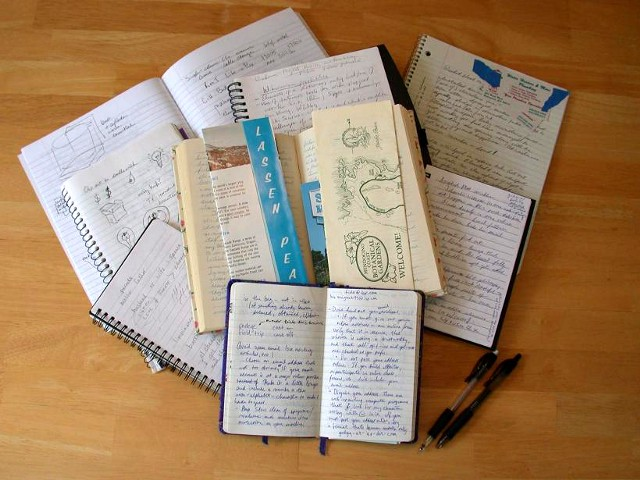 """Notebook collection"" from flickr user Dvortygirl"