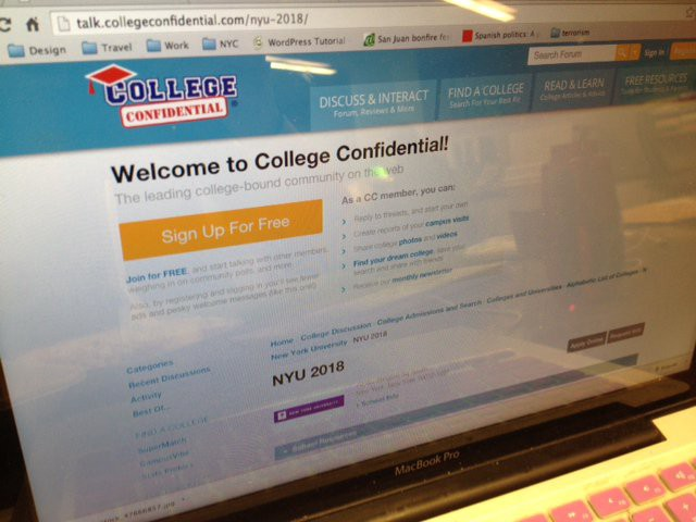 breaking down the college confidential myths nyu local