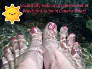 3cf465ddedd It s the time of year we all enjoy being outside in the sun only wearing  light summer clothes and sandals. But our feet often show how we have  neglected ...