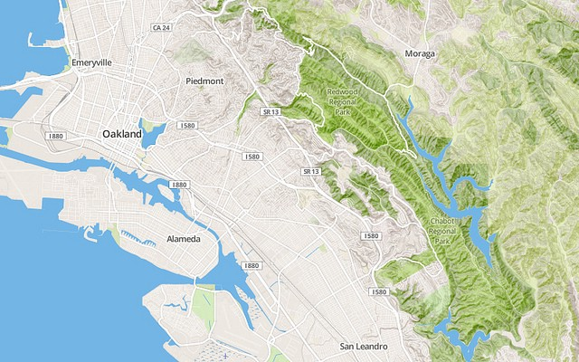 Global Terrain Coming Soon To MapBox Streets Points Of Interest - Global terrain map