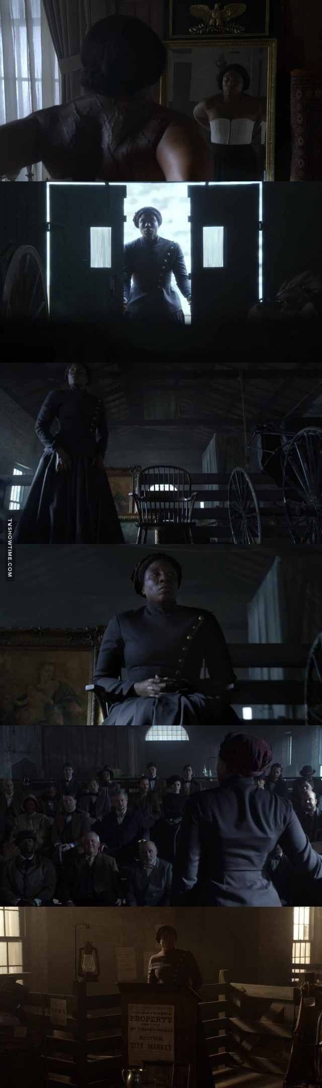"Aisha Hinds as Harriet Tubman was an excellent casting choice for the role. The reflection on her life experiences in my opinion, makes this one of the best episodes maybe the best of the series so far...definitely top three...these descriptive reflections give you a visual into the past...the sights, sounds, tastes and touch made it feel like you were there with her experiencing those moments. Forever an Icon...one of God's best...one of Society's greatest, Harriet ""Araminta Ross"" Tubman aka ""Moses""."