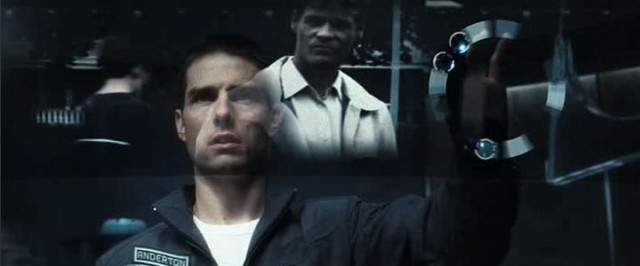 Mind-reading in Minority Report