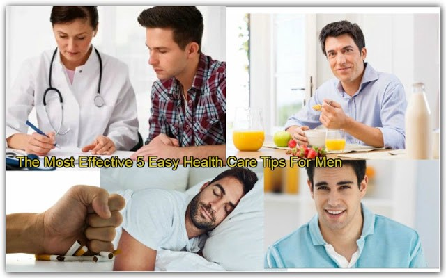 Additionally, Following The 5 straightforward Health Tips For Saving Men Life.