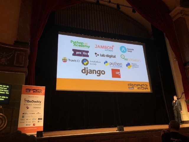 DjangoCon 2018: The first two days - Lab Digital