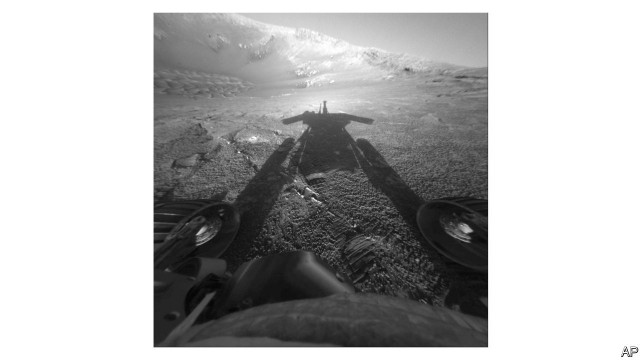Opportunity, a rover on Mars, was declared lost on February 12th