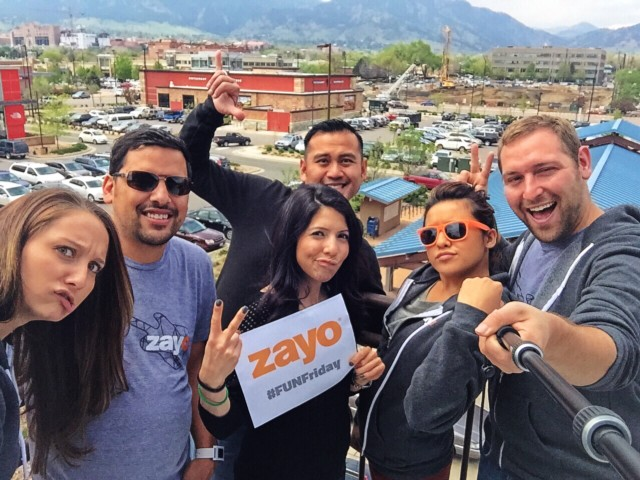 Oh Hey Zayo Group! Thanks for Sponsoring Boulder Startup Week!