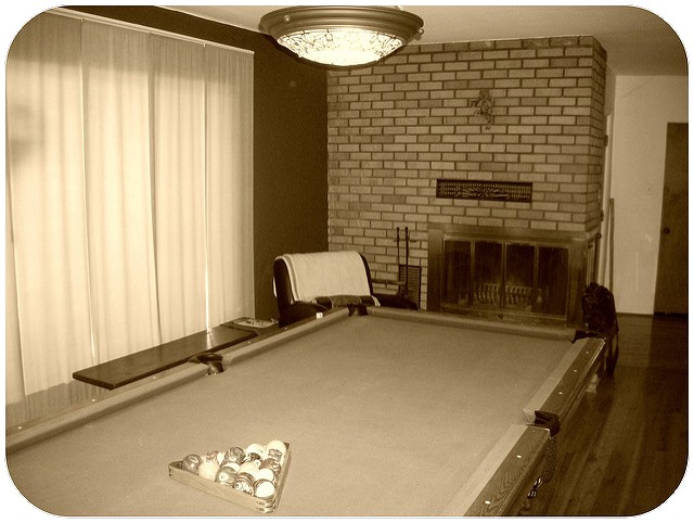Not Actually Georgeu0027s Pool Table, But You Get The Idea. Photo By L  Hoffheins.