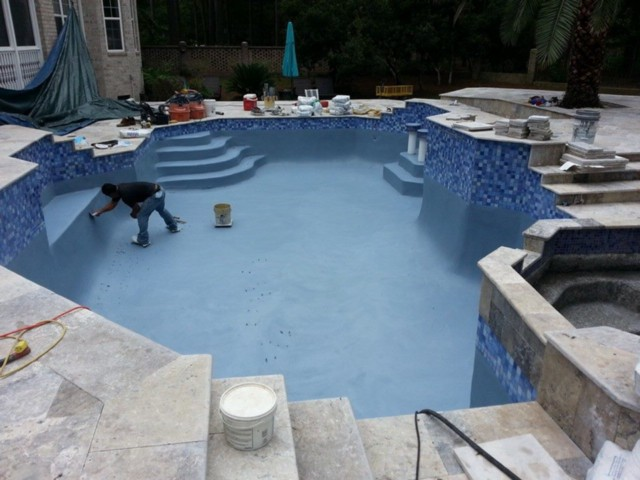 Charleston pool experts medium for Swimming pool renovation costs