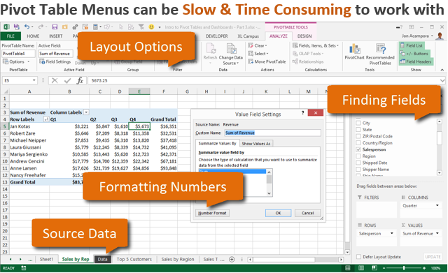 do you know excel pivot tables these 4 reasons tell you why you should