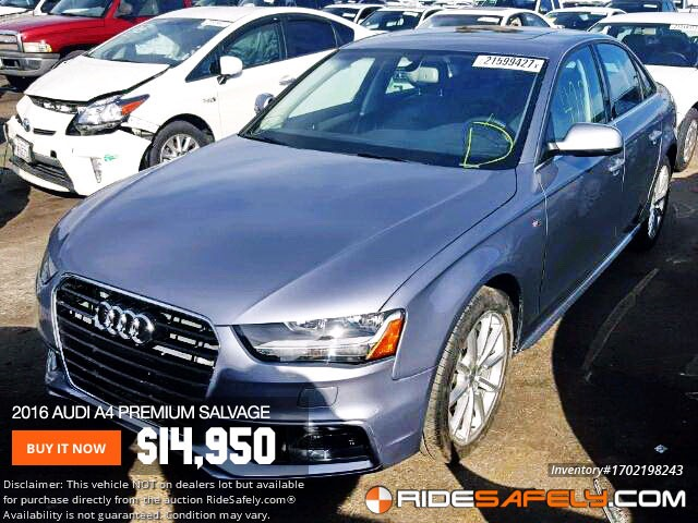 Find Great Deals On S Of Audi A From Online Car Auctions - Audi car auctions