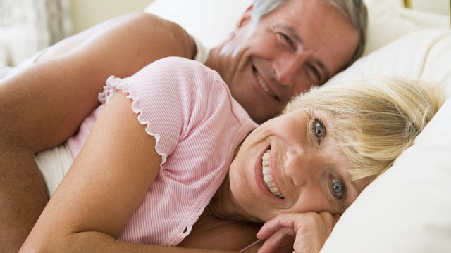 Increase post menopause wifes sex drive