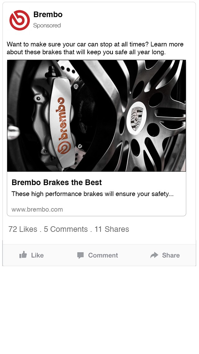 ce1c7cba46b The three advertisements create a cohesive message for what Brembo brakes  are through the key slogans used and the consistent color pallet.