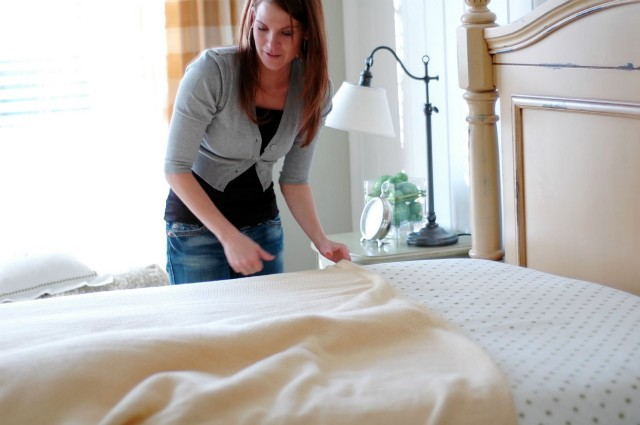 Take Care of Hygiene by Changing Sheets everyday!