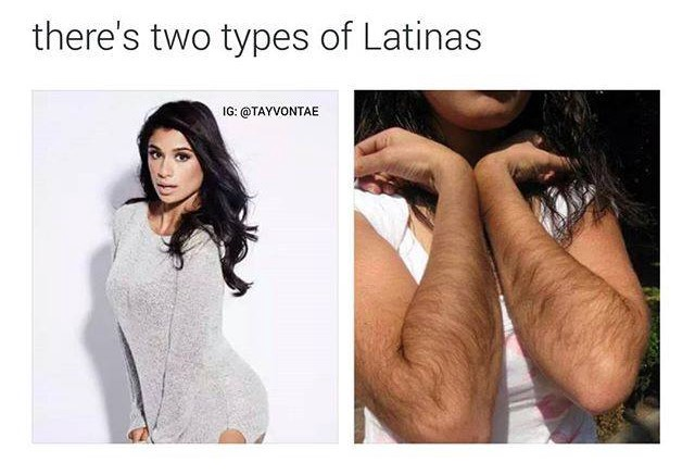 old hairy hispanic women