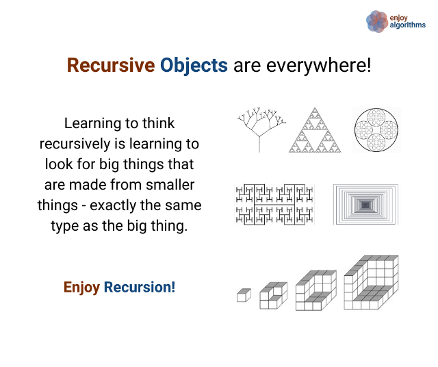 real life example of recursion