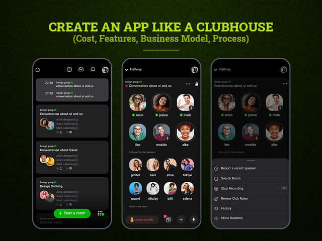 How Much Does it Cost to Create a Clubhouse App in 2021