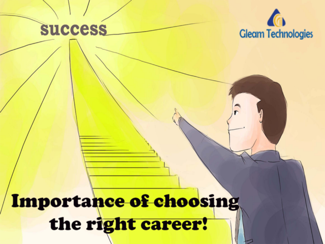 importance of choosing career Whether you've gone to a four-year university, you've just graduated high school, or you're ready for something new, choosing a career path can be exciting, yet overwhelming.
