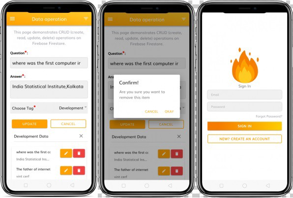 How to use Firebase with Ionic 4 - Complete guide for beginners