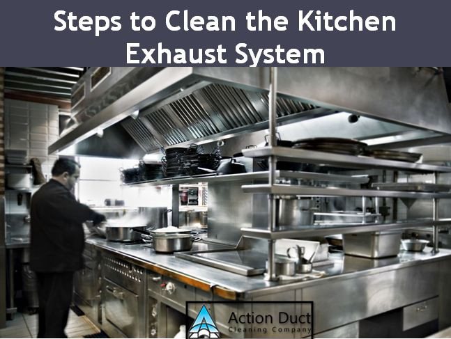 Steps to Clean the Kitchen Exhaust System – ActionDuct – Medium