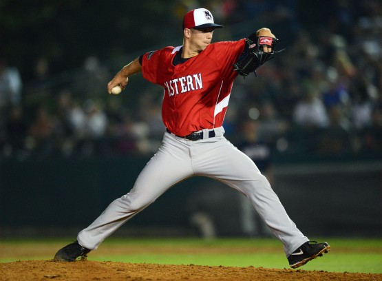 Marcus Walden was an Eastern League All-Star in 2013 with New Hampshire. (Kevin Pataky/MiLB.com)