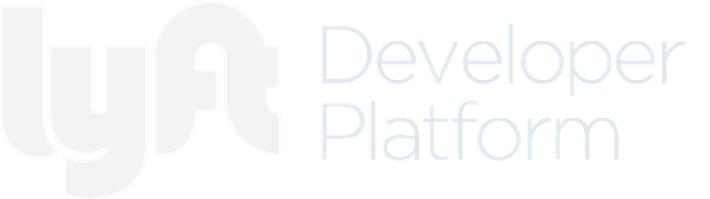 Lyft Developer Platform