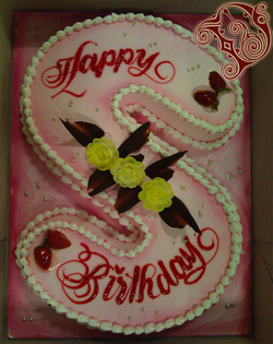 Happy Birthday Cake Images Sheila Book Medium