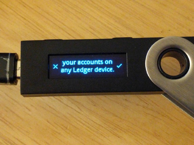 How to update my Ledger Nano S with the firmware 1 4