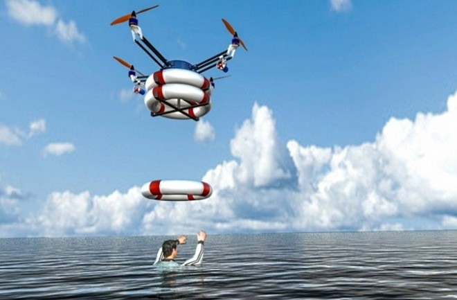 Seems Like A Very Practical Use Of Drone Technology That Benfits The Greater Good