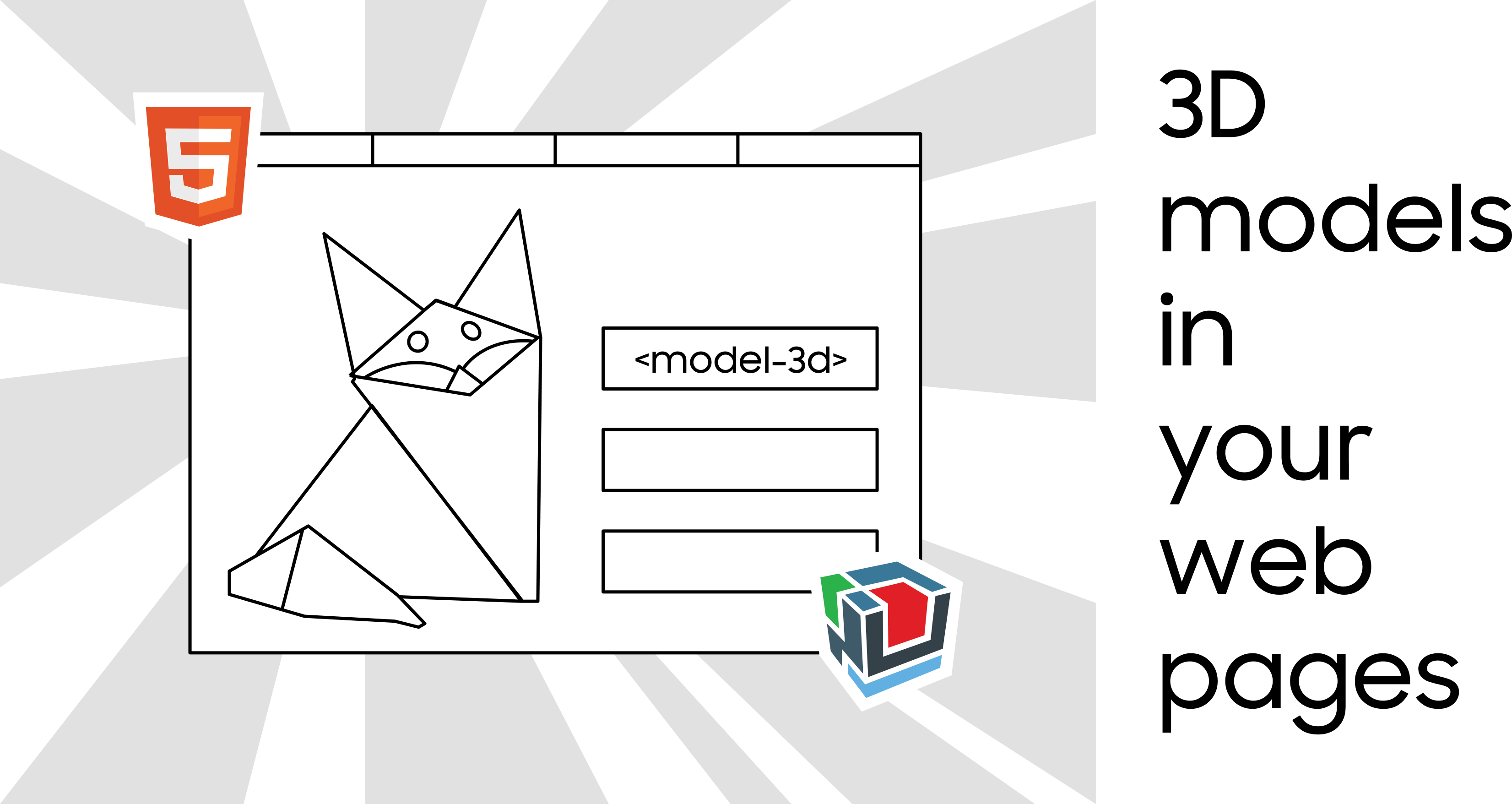 do it yourself: add a 3D model to a web page using web components