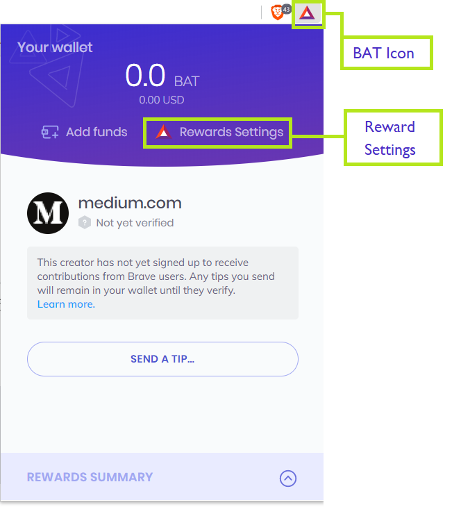 bat cryptocurrency to usd