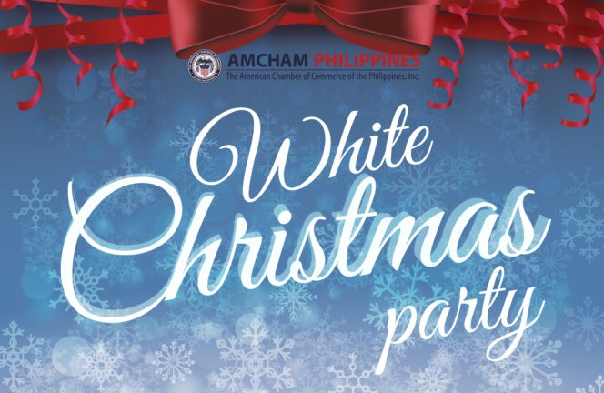 it was an evening of fun gift giving and networking an early white christmas party hosted by the american chamber of commerce of the philippines - When Was White Christmas Written