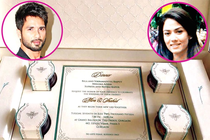 Udta Punjab Fame Bollywood Actor Shahid Kapoor Recently Married To Delhi Based Mira Rajput Their Marriage Is One Of The Most Buzzing Event Year