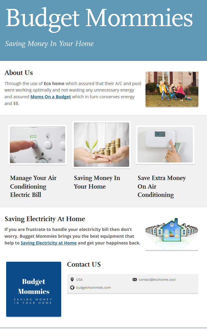 If You Are Frustrated To Handle Your Electricity Bill Then Donu0027t Worry,  Budget Mommies Brings You The Best Equipment That Helps To Save Electricity  At Home ...