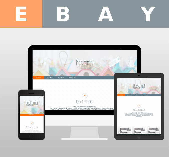 EBay Template Listing Mobilefriendly This Video Shows The Template - Mobile friendly ebay template