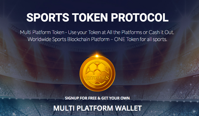 {filename}-(ann) Bitgoal - Interating The Blockchain Technology Into The Sport Industry
