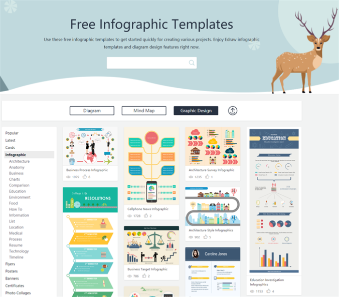 Awesome Free Infographic Templates for Business, Education & Lifestyle!
