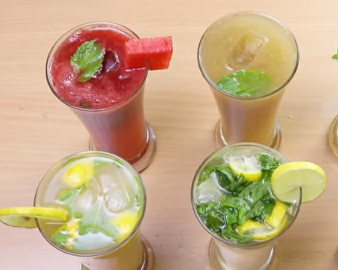 5 Easy to make a refreshing summer drink(Mocktail)