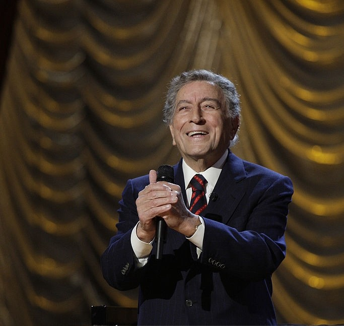 revered 91 year old tony bennett guested a record 16 times on conan obriens absurd nbc late night show always during christmas