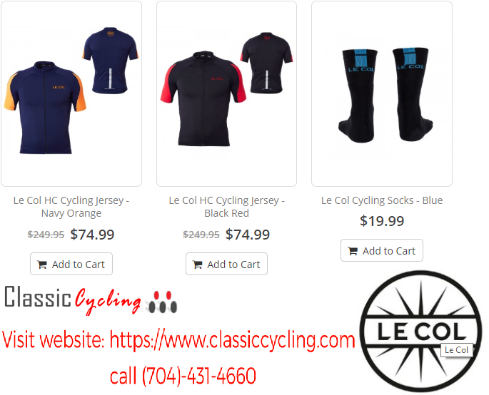 edbef7958 2018 Sale on Le Col HC Cycling Jersey