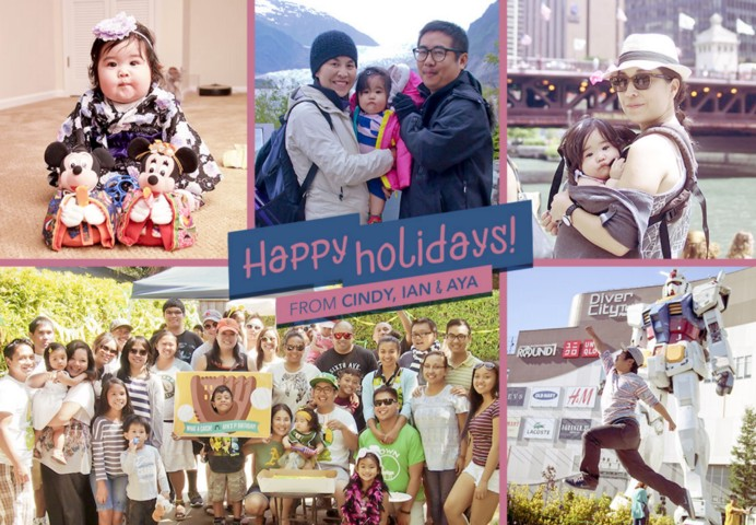 Happy holidays from the Sagabaen family!