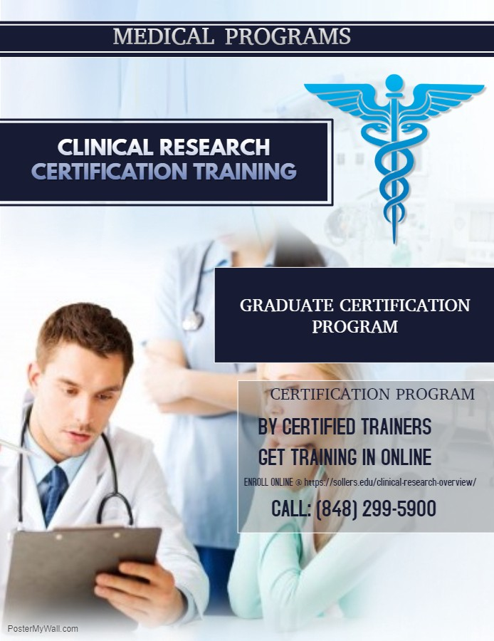 Clinical Research Certification Training John David Medium