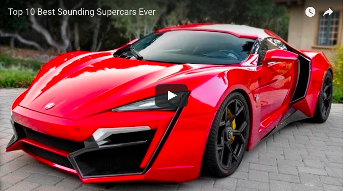 Top 10 Best Sounding Supercars Ever – My Clic Garage
