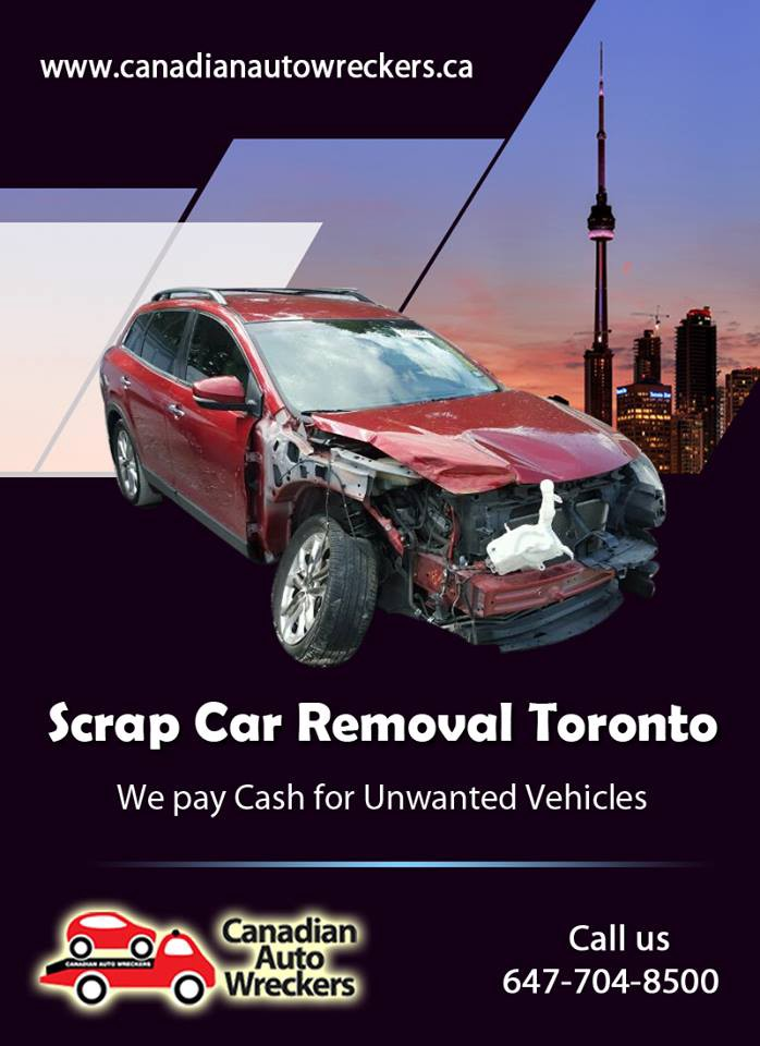 TOP DOLLAR PAID FOR YOUR SCRAP CAR — WE BUY ALL CARS