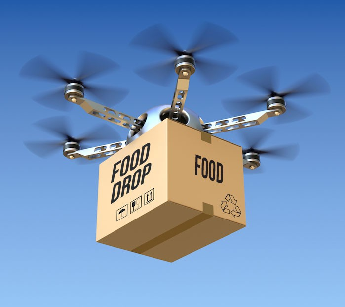 New Zealand Residents Might Actually Start Seeing Pizza Drones Later This Year African Based Food Delivery Guys Still Get Hooked In Traffic And Hot